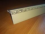 """Карниз алюмінієвий """"БПО-06 2м (дворядний, зі знімною передньою панеллю), фото 2"""