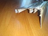 Карниз алюминиевый БПО-06 (двухрядный, со сменной передней панелью), фото 10