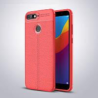 "Чехол Touch для Huawei Y6 Prime 2018 5.7"" бампер оригинальный Auto focus Red"