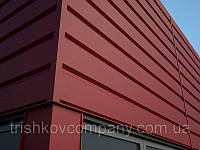 """Металлосайдинг фасадные панели """"Комплект"""". 0.7 мм, Корея UnionSteel, РЕ-полиестер"""