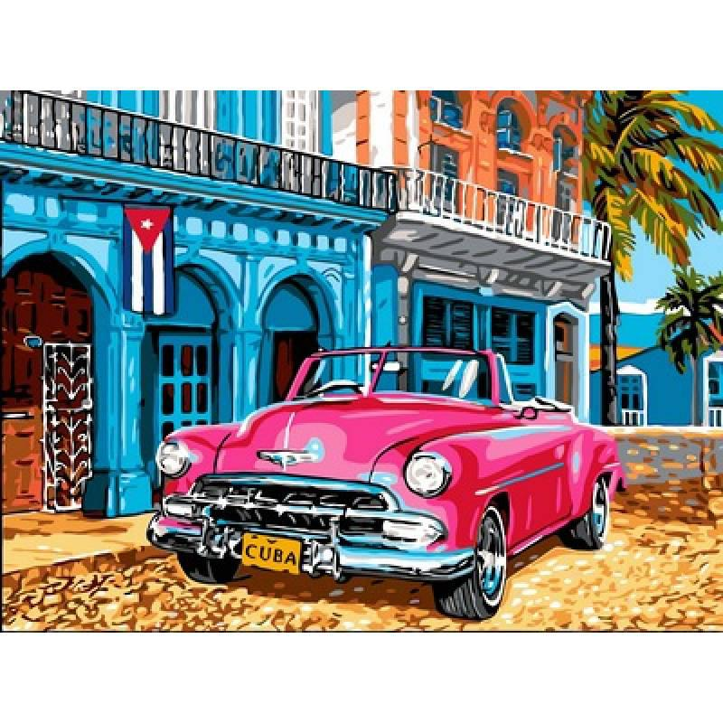 Картина по номерам Цвета Кубы, 30x40 см., Babylon