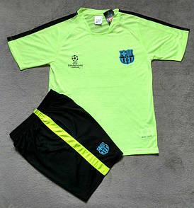 """Футболка-поло """"Барселона"""", (тренировочный комплект с шортами)"""