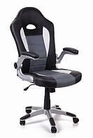 Офисный стул-кресло на колесиках Rally graphite серого цвета