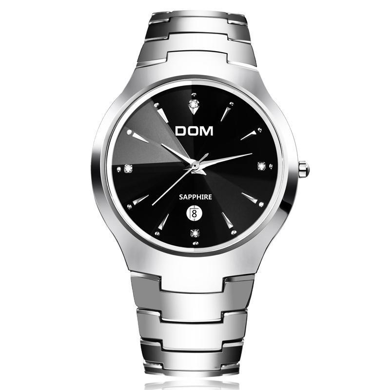 Мужские часы DOM из вольфрамовой стали