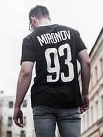Именная футболка с номером именем/фамилией