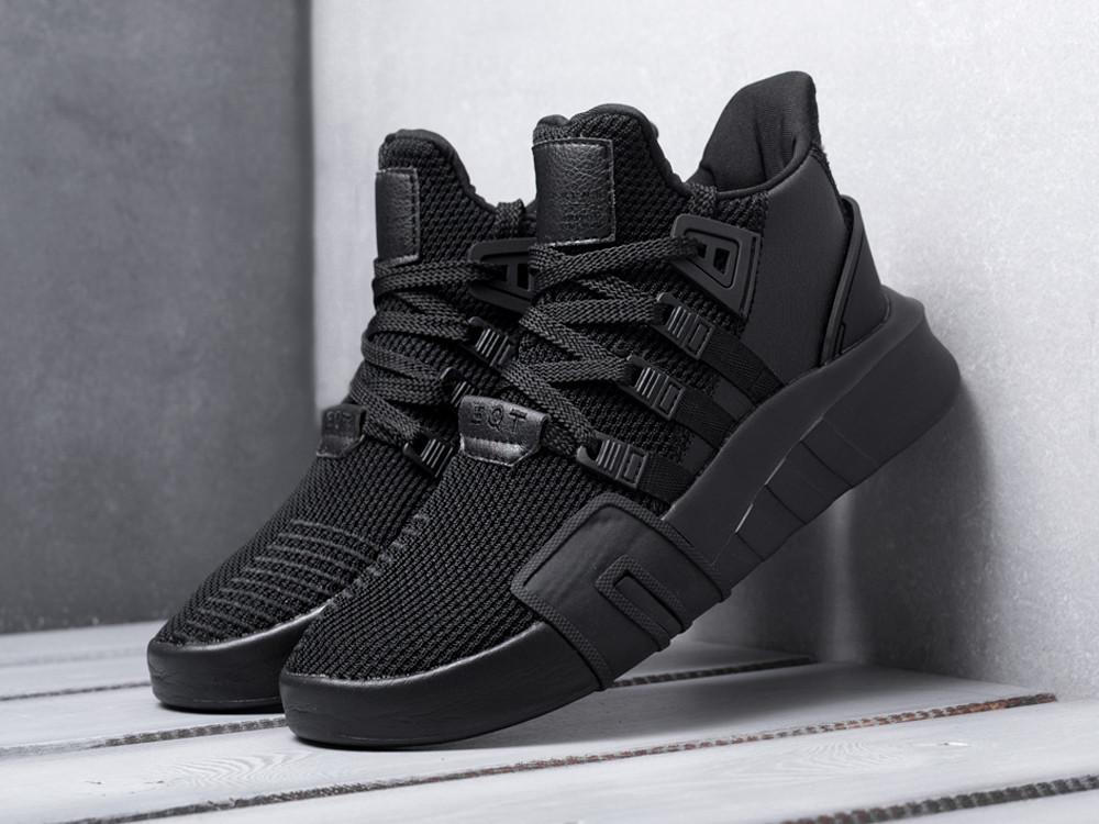 Кроссовки Adidas EQT Bask ADV Triple Black. Живое фото. Топ качество! (Реплика ААА+)