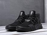 Кроссовки Adidas EQT Bask ADV Triple Black. Живое фото. Топ качество! (Реплика ААА+), фото 2