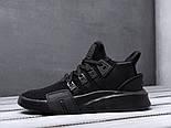 Кроссовки Adidas EQT Bask ADV Triple Black. Живое фото. Топ качество! (Реплика ААА+), фото 4