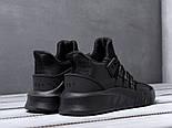 Кроссовки Adidas EQT Bask ADV Triple Black. Живое фото. Топ качество! (Реплика ААА+), фото 5