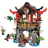 Конструктор Bela Ninja 10806 Храм Воскресения, 809 дет.