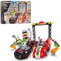 Конструктор AUSINI 26505 гонки, 2 машинка, фігурки, 238 елементів, в коробці, 32-21,5-5 см.