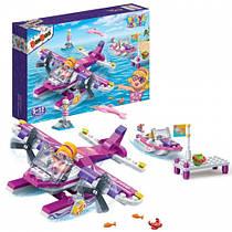 Конструктор BANBAO 6132 літак, фігурки, 172 елементи, в коробці, 28-19-6 см