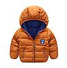 Куртка однотонная демисезонная спортивного стиля (кор) 110