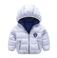 Куртка однотонная демисезонная спортивного стиля (сирень) 100