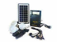 Внешний аккумулятор с солнечной батареей GD-LITE, GD-8066, с FM радио