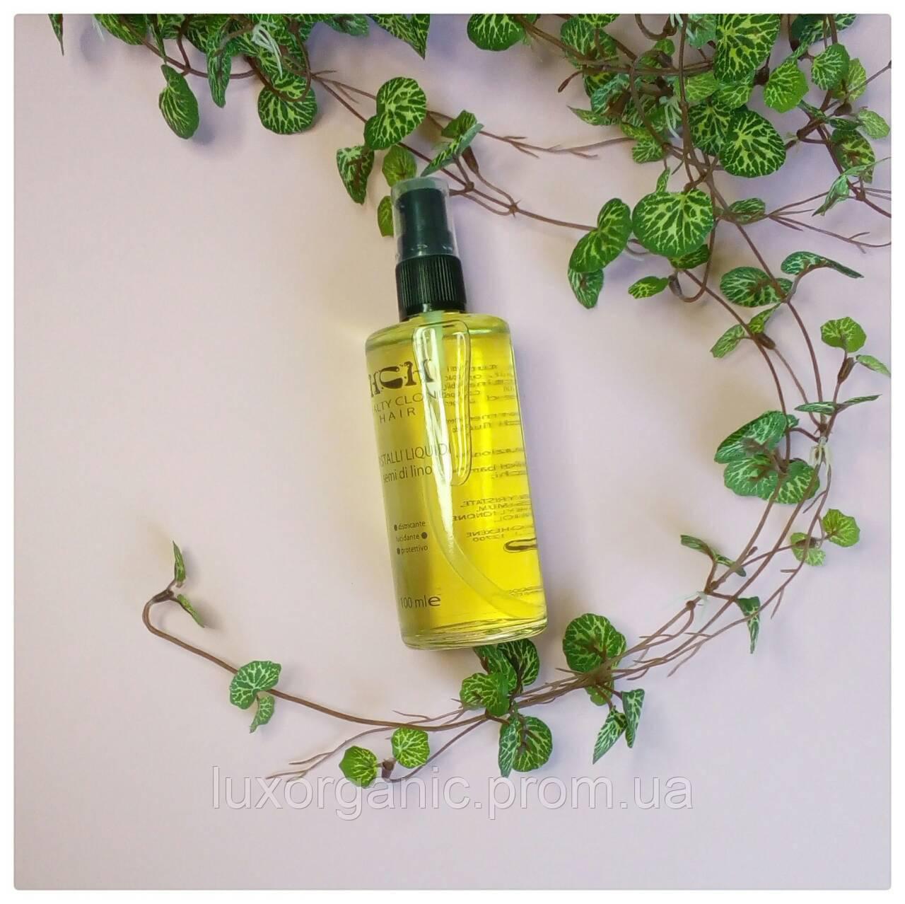 Восстанавливающее масло из семян льна для волос DISCOS / 100 мл