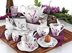 Посуда из керамики и стекла