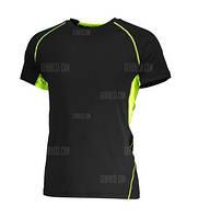 Спортивная фитнес футболка. Полиэстер. Мужская. Отличное качество!