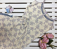 Ночная сорочка батал на тонкой бретели Bella Secret размер 2XL, фото 1