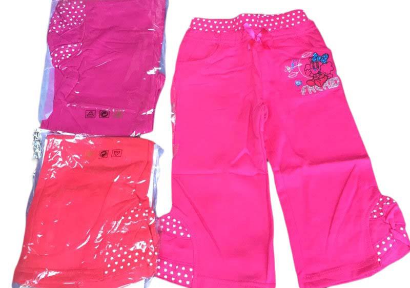 Трикотажные брюки для девочек опт, размеры 6-36 мес, арт. G-2255