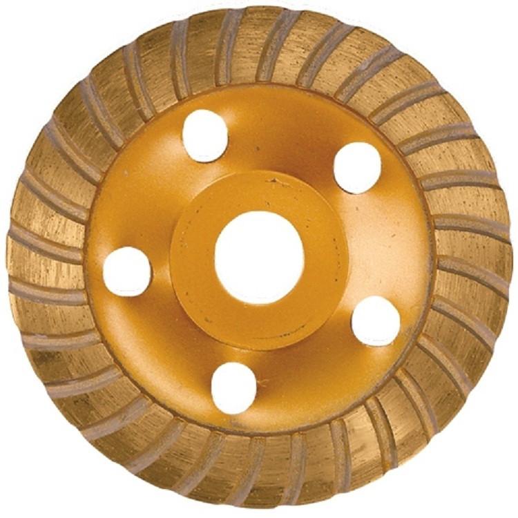Чашка алмазная зачистная, фреза шлифовальная турбо 150 мм. MTX 729979