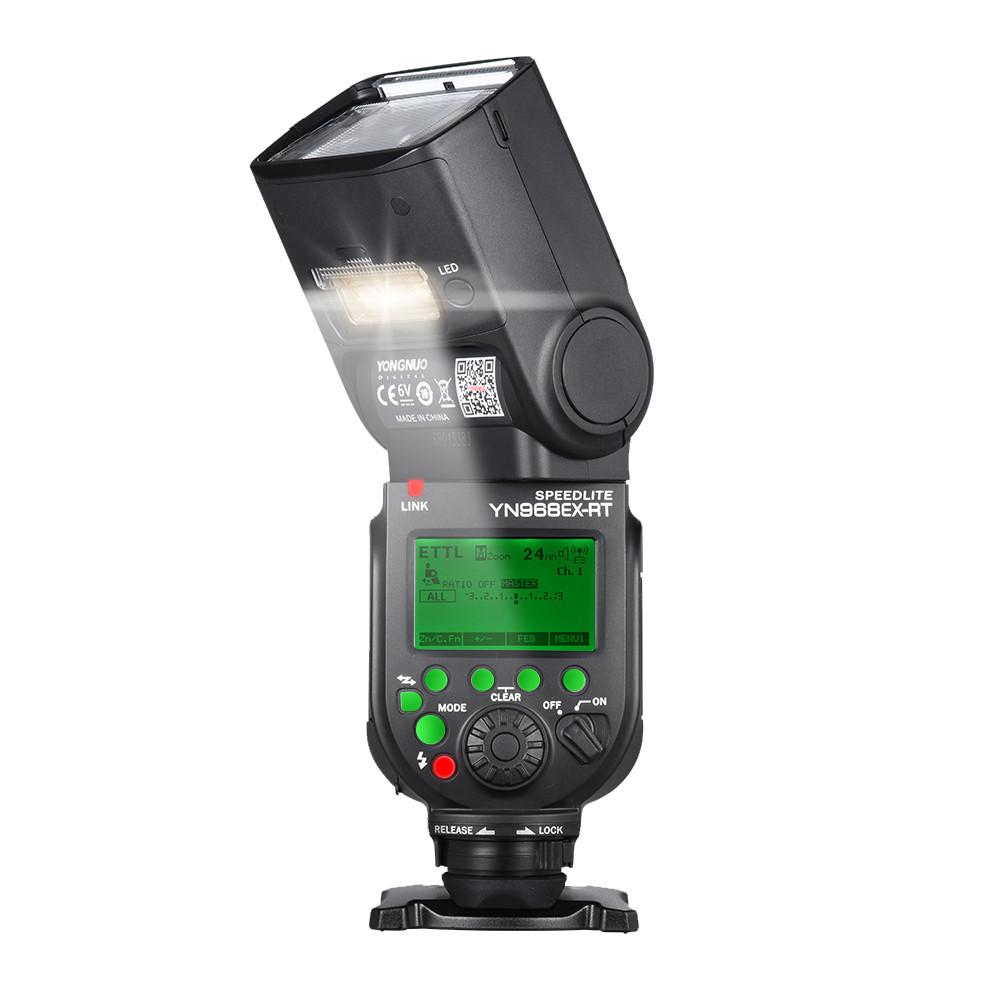 Вспышка Yongnuo Speedlite YN968EX-RT для Canon (YN968EX-RT)