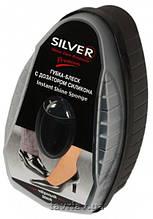 Губка с дозатором силикона Silver, черный