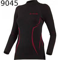 Термофутболка женская Lasting Arida, L/XL 9045 черный/розовый