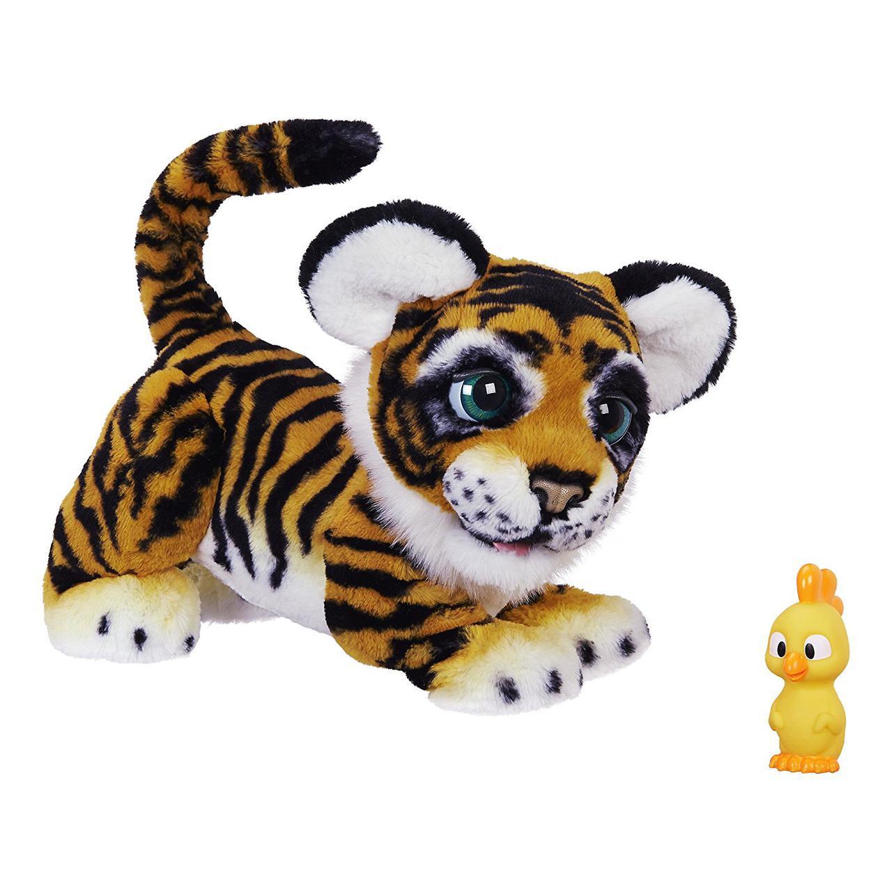 Интерактивный тигренок Тайлер рычащий Амурчик FurReal Roarin Tyler the Playful Tiger Hasbro B9071