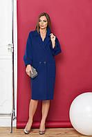 Модное пальто женское оверсайз в 4х цветах М-614, фото 1