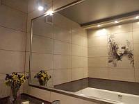 Зеркало влагостойкое Z110\042, зеркало в ванную комнату навесное 95х150 см, Возможность выбора рамки и размера