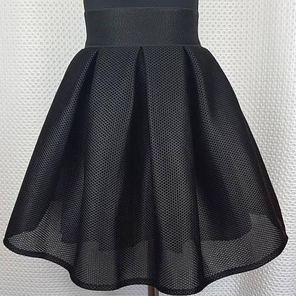 Подростковая черная юбка в школу  р 146-164, фото 2