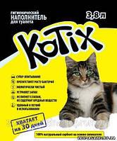 Kotix (Котикс) силикагелевый наполнитель для лотков кошек 3,8 литров.