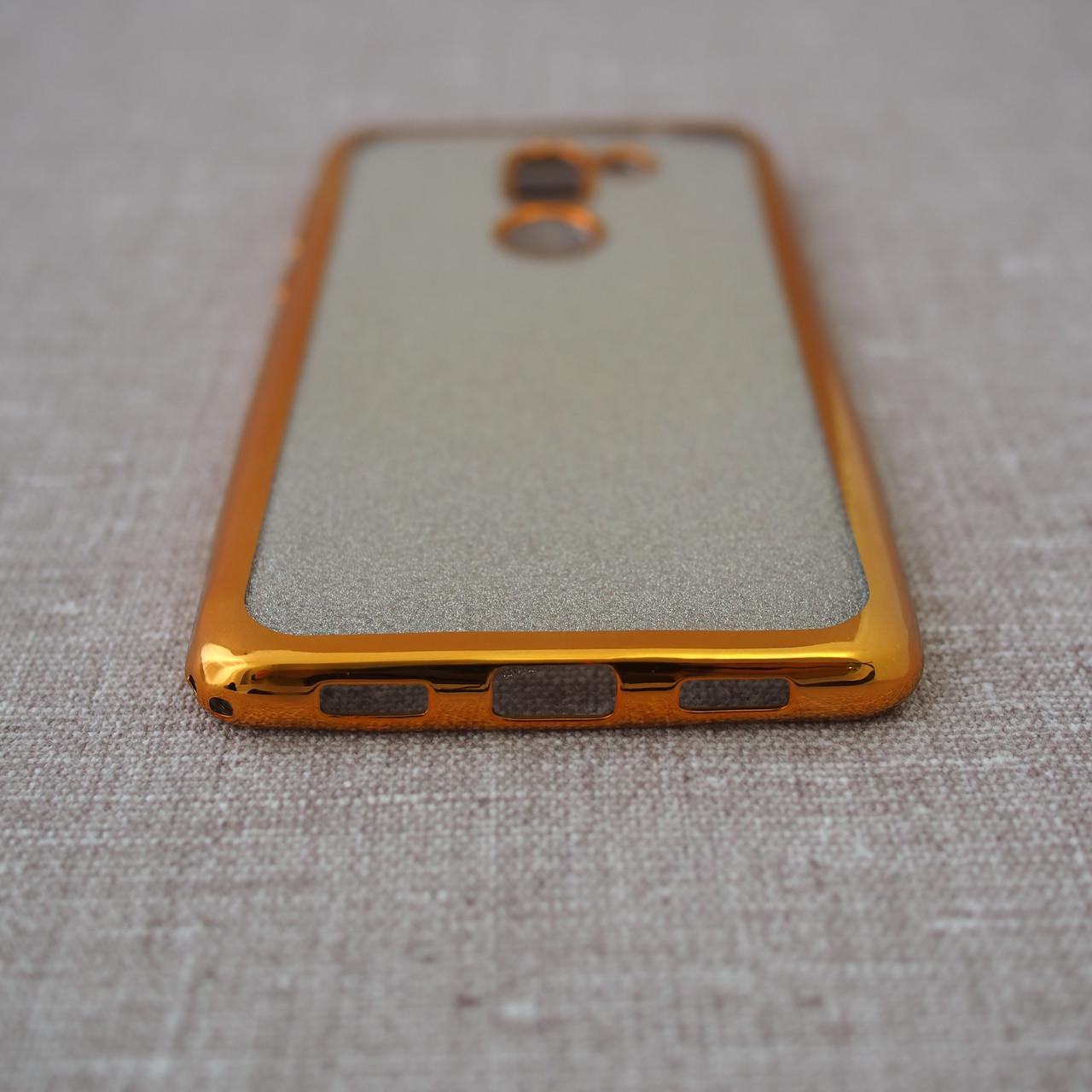 Remax Glitter Air Huawei GR5 2017 gold Для телефона