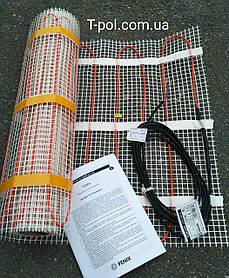 Теплый пол без стяжки нагревательный мат ldts 4 м2 Ecoflor Fenix Чехия