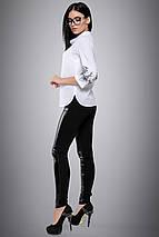 Женская блузка с вышивкой на рукавах больших размеров (2706:2694 svt), фото 2