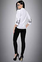 Женская блузка с вышивкой на рукавах больших размеров (2706:2694 svt), фото 3