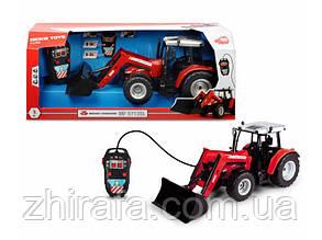 Трактор с ковшом на д/у Dickie Toys Massey Ferguson 5713SL 3739002