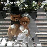Валяные свадебные мишки, фото 1