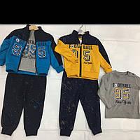 Трикотажные спортивные костюмы для мальчиков тройки оптом BUDDY BOY