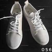 Женские кроссовки мокасины кеды сетка стильные белого цвета очень легкие дышащие весна лето