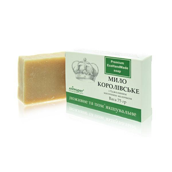Королівське крем-мило з маточним молочком [Для всіх типів шкіри. Дитяче мило]