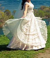 Платье свадебное «Трюфель» (Размер 42-46 (S-M))