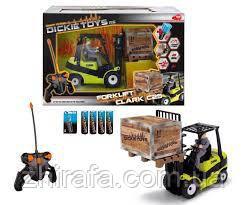 Машинка Погрузчик на радиоуправлении  24 см Dickie Toys Forklift 1119886