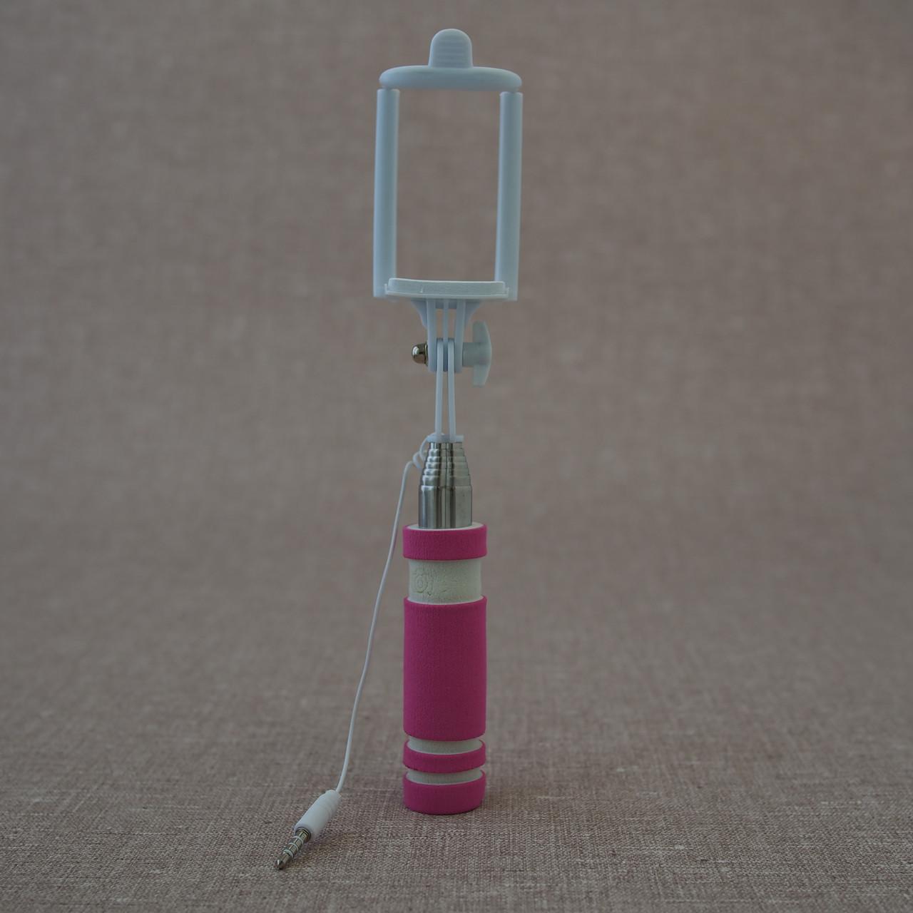 Монопод для селфи Mini для селфи pink