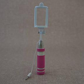 Монопод для селфи Mini для селфи pink, фото 2