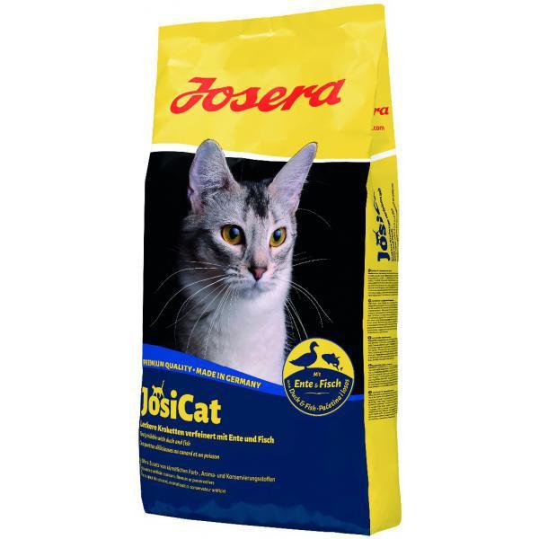 Корм для котов Josera JosiCat Еnte & Fish (утка+рыба) 10кг