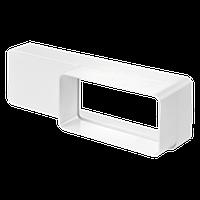 Переходник 55/110 - 60/204 для плоских каналов