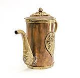 Антикварный азиатский? медный чайник, заварник, кофейник, фото 2
