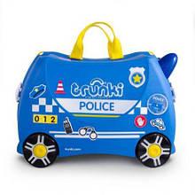 Валіза дитячий на колесах Поліція Trunki TRU-0323